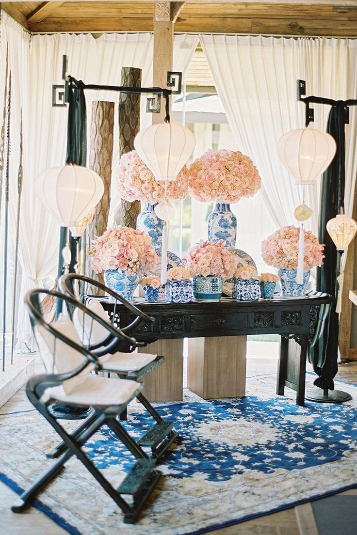 5 Simple Tips For A Wedding At Home Simple Anniversary Decoration Ideas At Home Roman Chinese Wedding Tea Ceremony Chinoiserie Wedding Chinese Wedding Decor