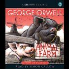 Animal Farm Audiobook by George Orwell Narrated by Simon Callow. Animal Farm is an allegorical and dystopian novella by George Orwell, first published in England on 17 August 1945. According to Orwell, the book reflects events leading up to the Russian Revolution of 1917 and then on into the Stalinist era of the Soviet Union.