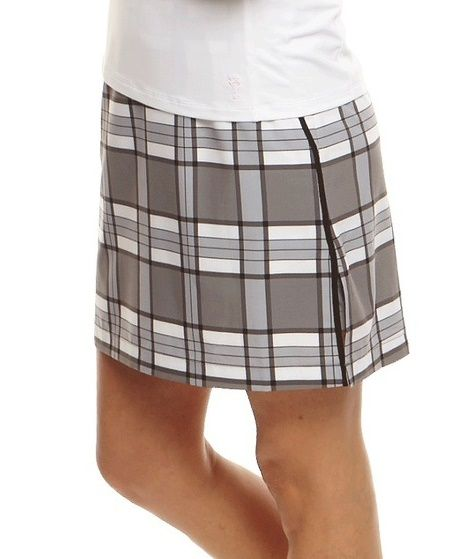 """Check out what Lori's Golf Shoppe has for your days on and off the golf course!:GPassionate Plaid Golftini Ladies Performance 18"""" Golf Skort"""