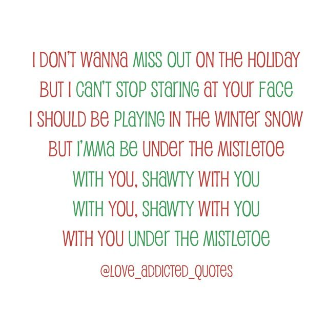 Can't believe i'm actually posting something of his, but I really do love this song :) especially with the holidays right around the corner.