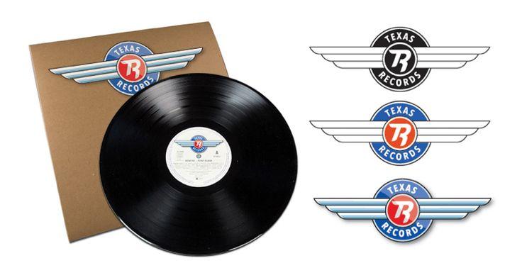 Logotype for the norwegian record company Texas Records.