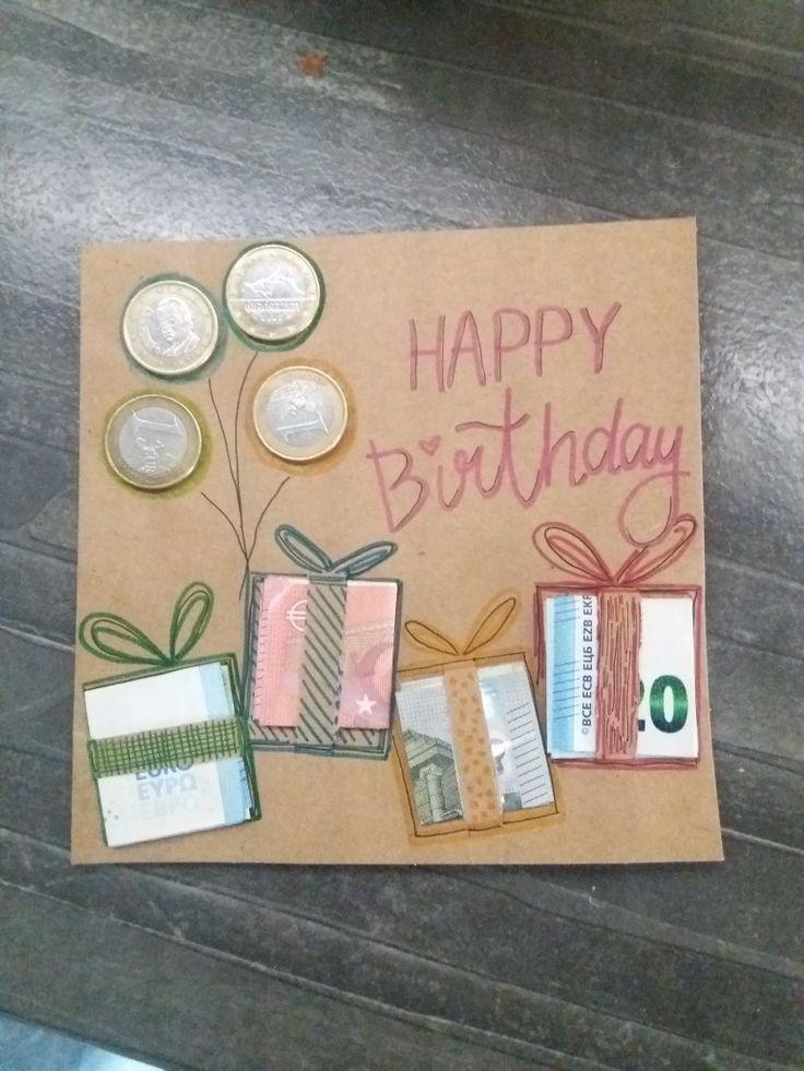 Geldgeschenk zum Geburtstag selber machen - Kinder in 2020