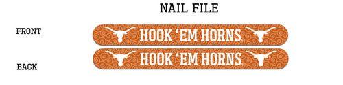 University Of Texas Nail File