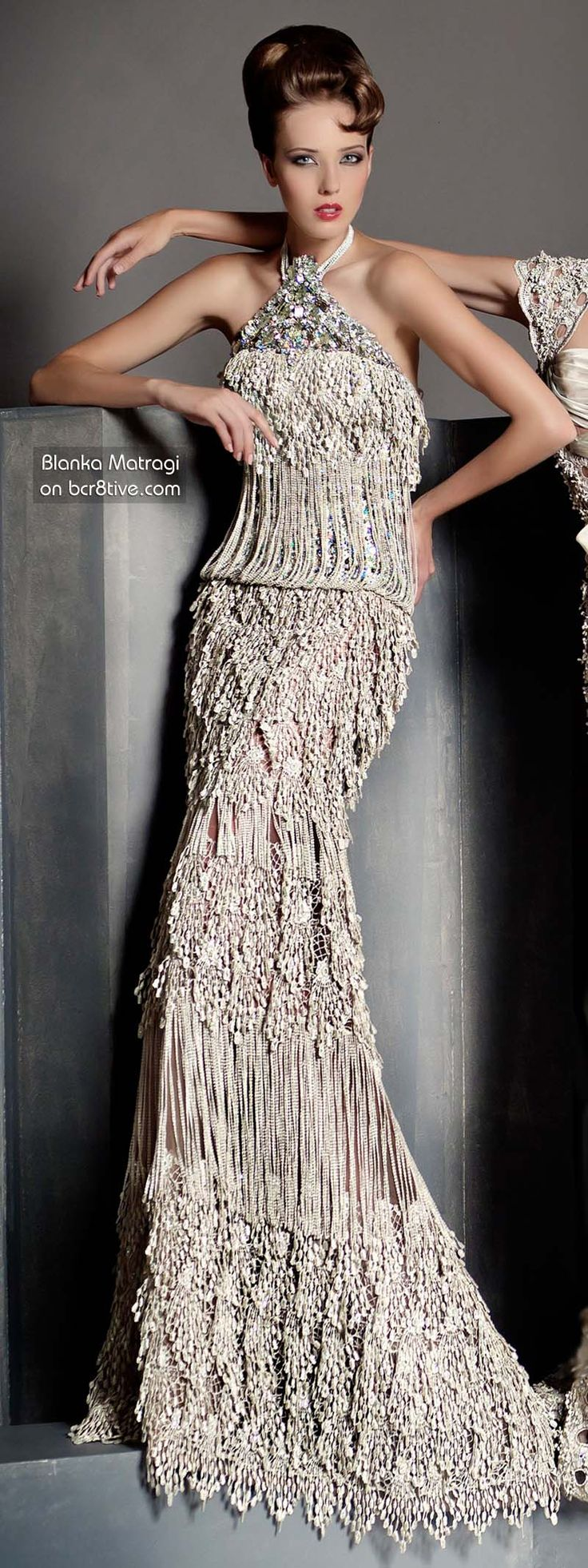 The Versatile Talents of Artisan Blanka Matragi » Blanka Matragi 30th Anniversary Couture Collection - Wedding Dress