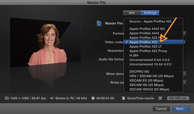 Proxy Media in Final Cut Pro X