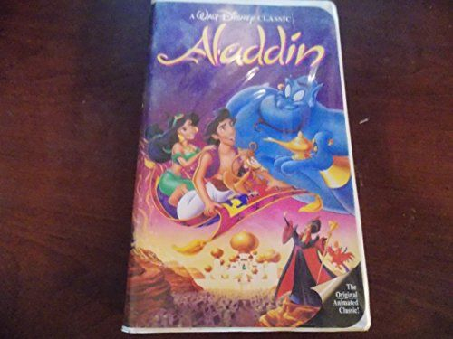Aladdin Disney VHS Black Diamond RARE! Aladdin VHS Black Diamond RARE! A must Have for any Disney collector! Case in good condition, Great collectors item #Beauty #Collectibles #Aladdin_Disney