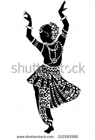 Indian woman - stock vector