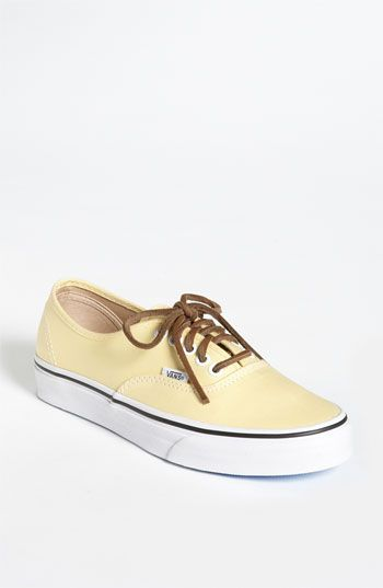 sneakers: Warm Color, Boats Shoes, Brown Leather, Cool Vans, Sandals, Buffalo Recipe, Vans Authentic, Shoes Organizations, Sneakers Styles
