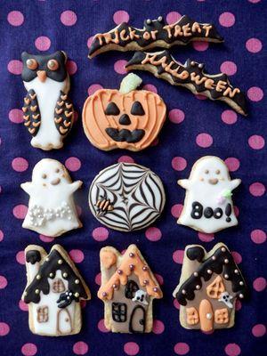 100均グッズでできるデコクッキーでハロウィンを楽しもう♪ - NAVER まとめ