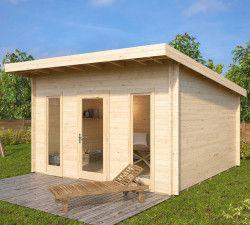 Modernes holzhaus pultdach  Die besten 25+ Gartenhaus mit pultdach Ideen auf Pinterest ...