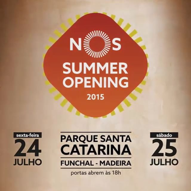 Hotel Madeira guests are within walking distance from a festival that celebrates the sun and good vibrations of the summer. Just 2 days to go... #HotelMadeira #Nos #SummerOpening #SantaCatarina #Parque #Music #July #Madeira #Funchal
