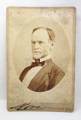 Antique-19c-Original-Civil-War-Union-General-William-T-Sherman-Cabinet-Card
