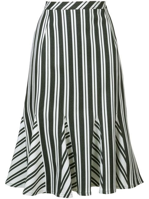 Shop Altuzarra striped skirt.
