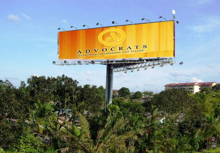Unipole (or monopole) hoardings by Advocratscreations Acpl for more Visit at : http://goo.gl/OuSNtD