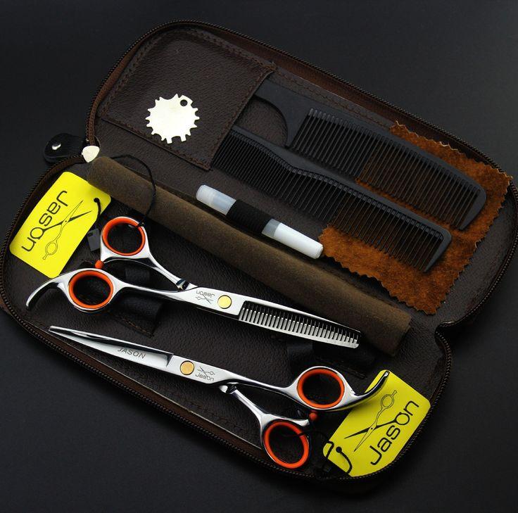 Original 5.5/6 Inch Professional Hair Scissors Hairdressing Ciseaux Coiffure Tijeras Peluqueria Tesouras Para Corte De Cabelo Shear, $22