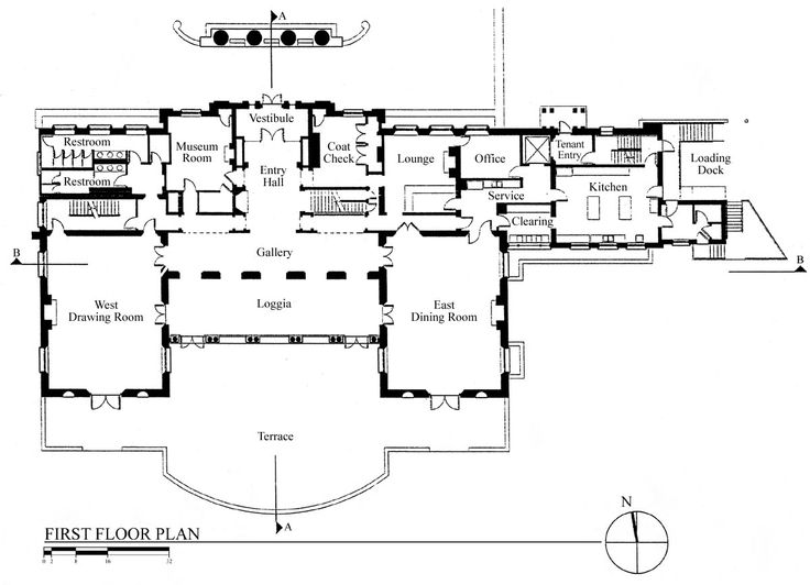 Wadsworth Mansion Floor Plan Dinner In The West Drawing