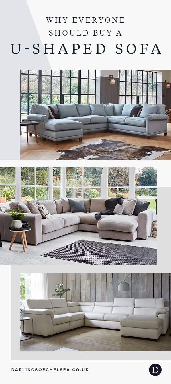 What No One Tells You About U Shaped Sofas Darlings Of Chelsea In 2020 Apartment Living Room Living Room Decor Gray Leather Couches Living Room
