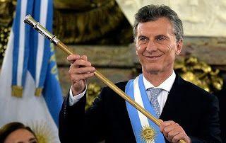 en directo: El presidente de Argentina Mauricio Macri convirti...