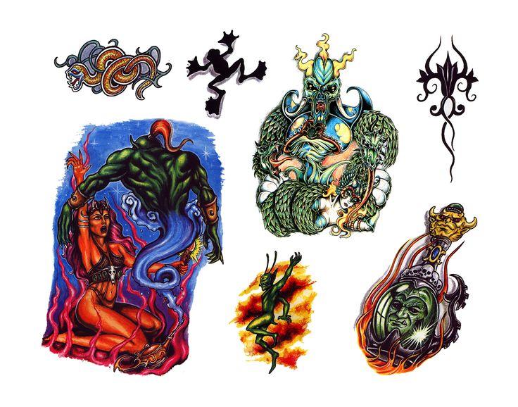 Tattoo Flash Designs #tattoos #tattooflash #tattooart #art