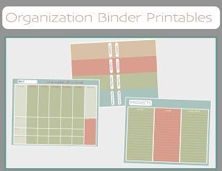 Free Printable Household Organization Binder