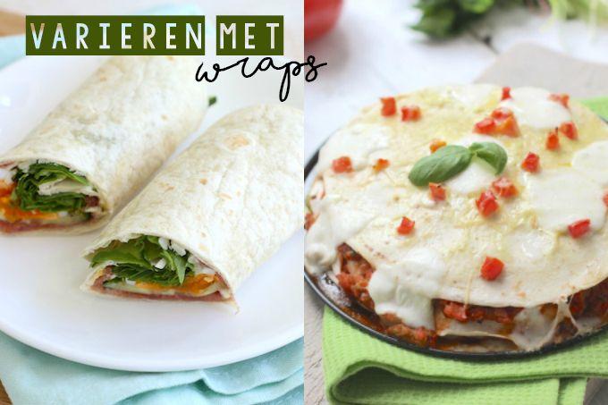 Met wraps kun je allerlei verschillende gerechten maken zoals een wraptaart, een quesadilla en een wrap pizza. Wij hebben de vijf lekkerste wrap recepten op een rijtje voor je gezet. Ben je benieuwd? Kijk dan gauw verder. Wraps met krokante kip Pizza wrap Carpacciowrap Italiaanse wraptaart Quesadilla met kip, ham en tomaat