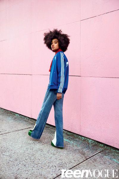Amandla Stenberg for Teen Vogue, February 2016