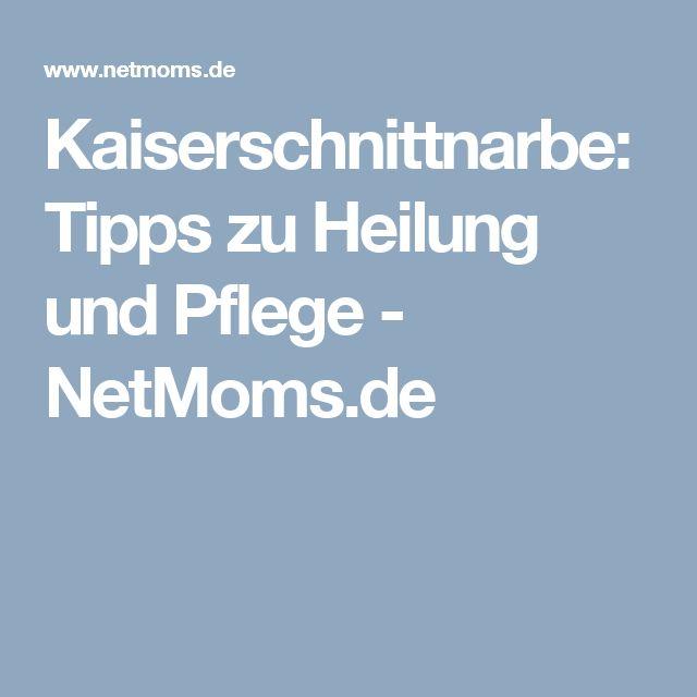 Kaiserschnittnarbe: Tipps zu Heilung und Pflege - NetMoms.de