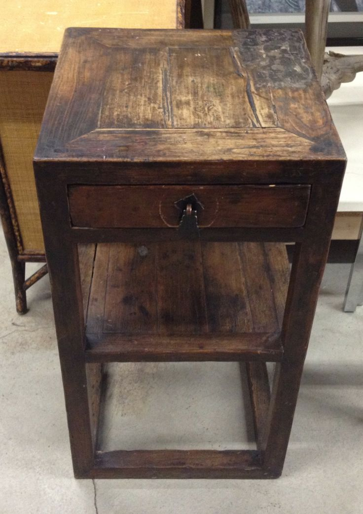 Rustic End Tables (Pair) $400 - Chicago http://furnishly.com/catalog/product/view/id/796/s/rustic-end-tables-pair/