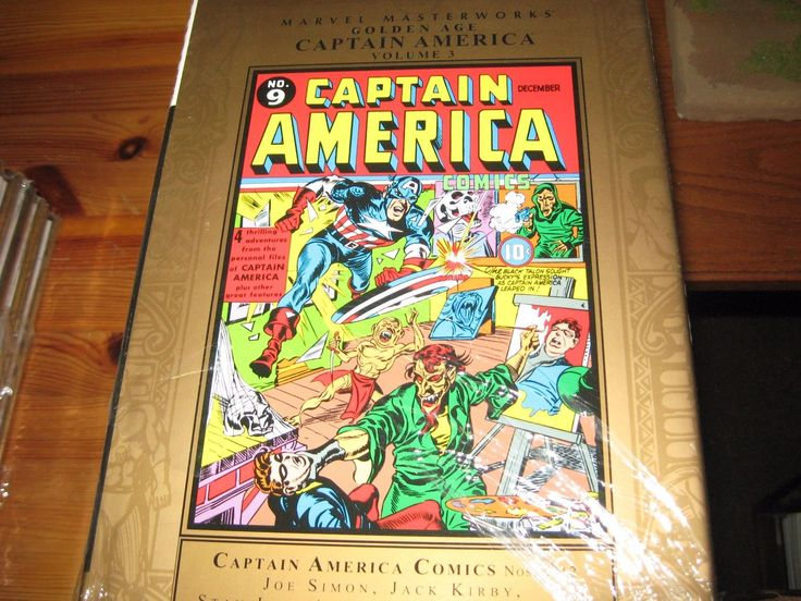 #Marvel masterworks golden age #captain america volume 3 #hardcover graphic novel,  View more on the LINK: http://www.zeppy.io/product/gb/2/282239007318/