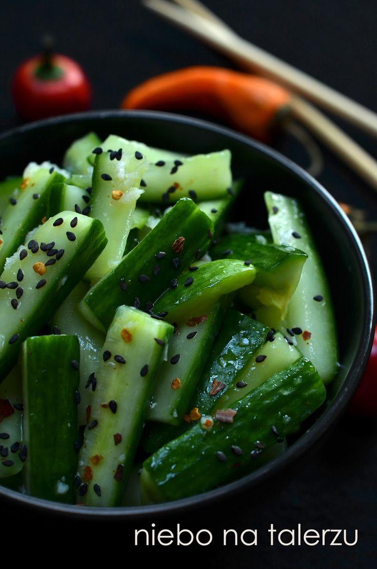 sałatka z ogórka po chińsku
