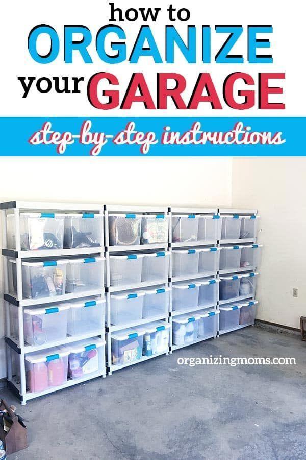 Garage Organization, Organize The Garage