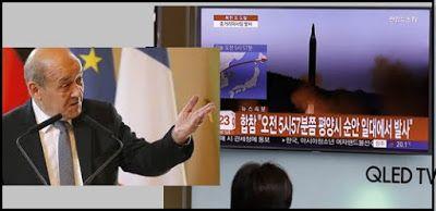 Η Γαλλία προειδοποιεί: Η Β. Κορέα θα μπορεί να πλήξει σύντομα με πυρηνικά ΗΠΑ και Ευρώπη!