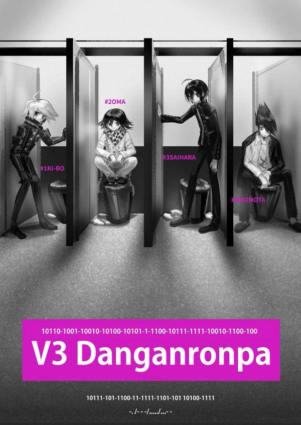 Kiibo Kokichi Shuichi Kaito Danganronpa Super Danganronpa