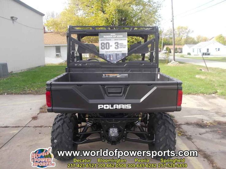New 2017 Polaris RANGER RANGER 1000 XP EPS ATVs For Sale in Illinois. 2017 Polaris RANGER RANGER 1000 XP EPS, New 2017 POLARIS RANGER 1000 XP EPS UTV owned by our Decatur store and located in DECATUR. Give our sales team a call today - or fill out the contact form below.