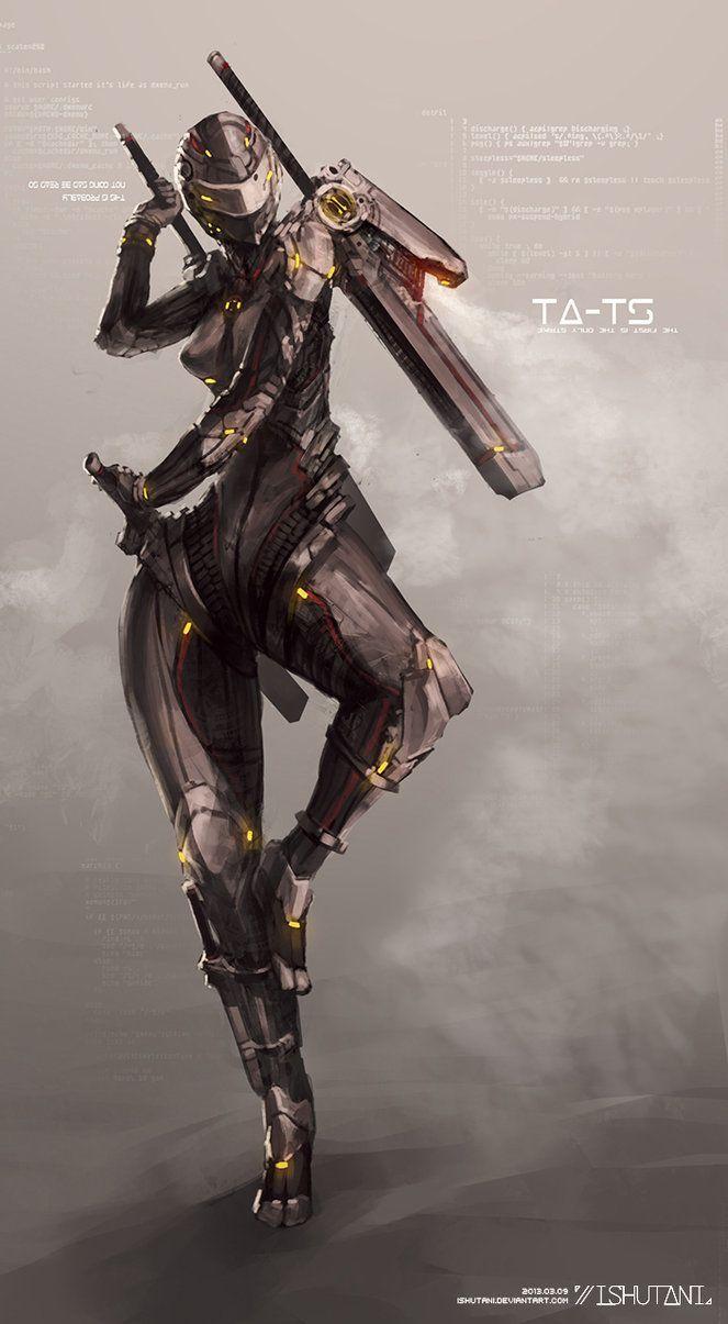Character Design Pinup Art : True strike by ishutani on deviantart mechanical