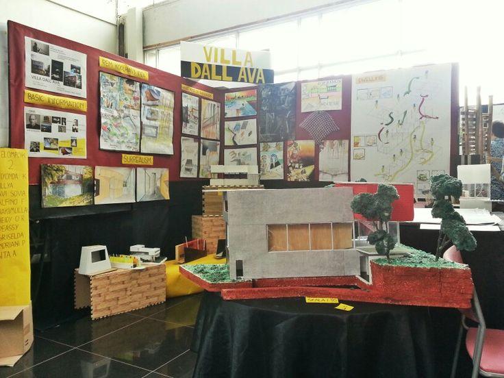 villa dal'ava - rem koolhas studying precedent as a benchmark university of indonesia architecture design studio 2 (2014)