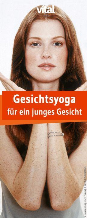 Übungen Gesichtsyoga: Für ein junges Gesicht