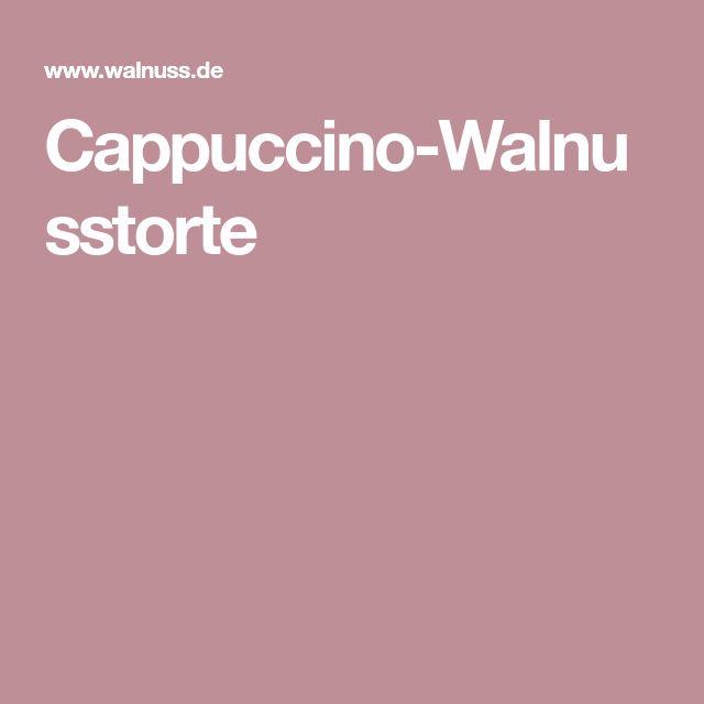 Cappuccino-Walnusstorte
