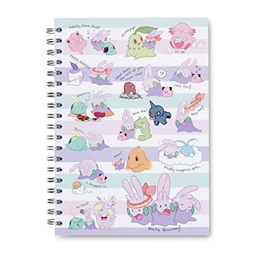 Goomy Spiral Notebook (200 Pages)