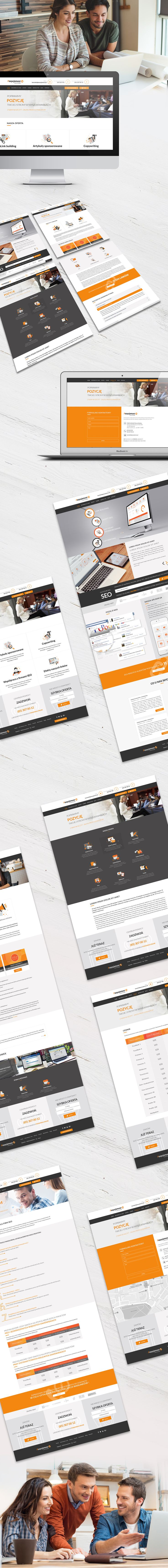 Responsive webiste for SEO agency, check out more projects http://wiwiagency.com/portfolio/
