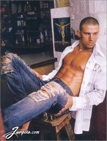 Channing Tatum ;) There isn't a pair of jeans that don't look