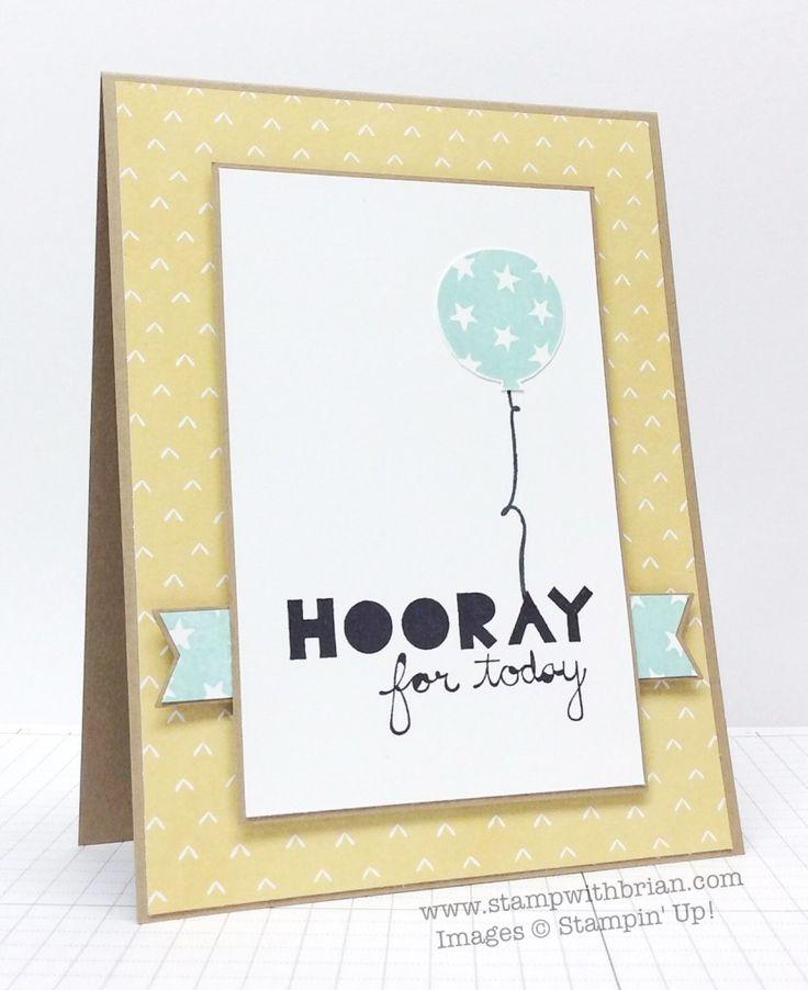 Geometrical, Balloon Bash, Stampin' Up!, Brian King, PPA250