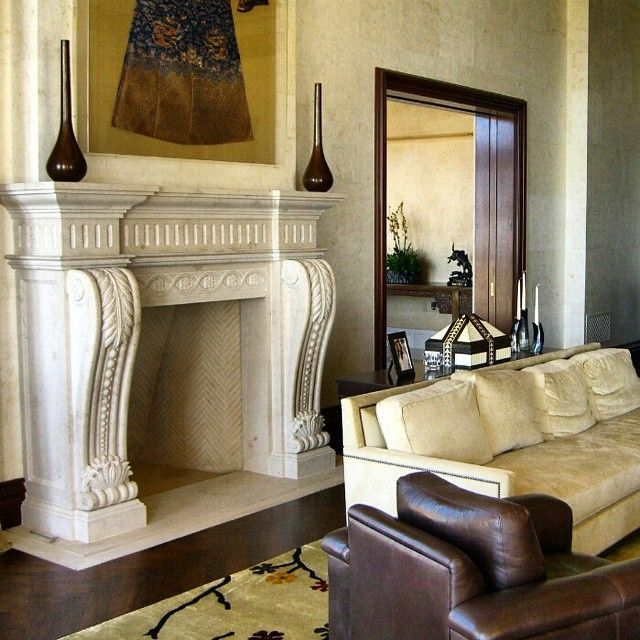 Marble Fireplace Aldo Pesetti Unico Designlab Custom Made Pinterest