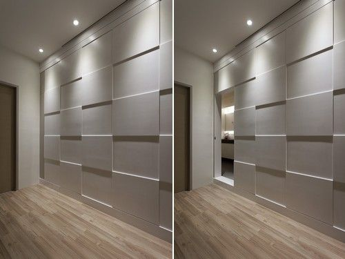 hidden room under stairs wall treatment Do It Yourself