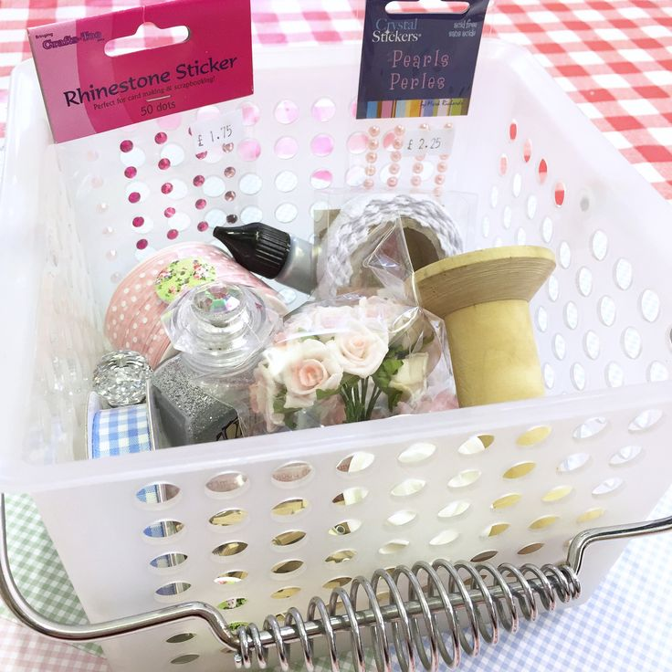 Basket full of goodies from Blyth Craft Studio!