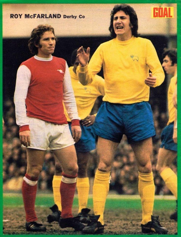 Alan Ball Arsenal, Roy McFarland Derby