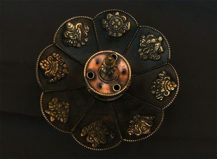 Beau br le encens repr sentant une fleur de lotus les - Fleur de lotus bouddhisme ...