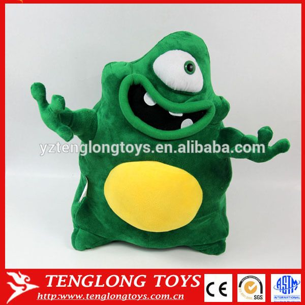 China Factory plush alien toy stuffed and plush alien plush toy plush alien doll