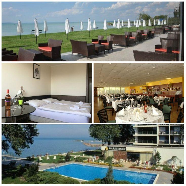 Hotel Európa & Hungária Siófok - Wellness pihenés az 50. születésnapját ünneplő Hotel Európában  10.575 Ft/fő/éjtől!  Ajándék limitált kiadású strandtáska minden Vadász foglalónak!