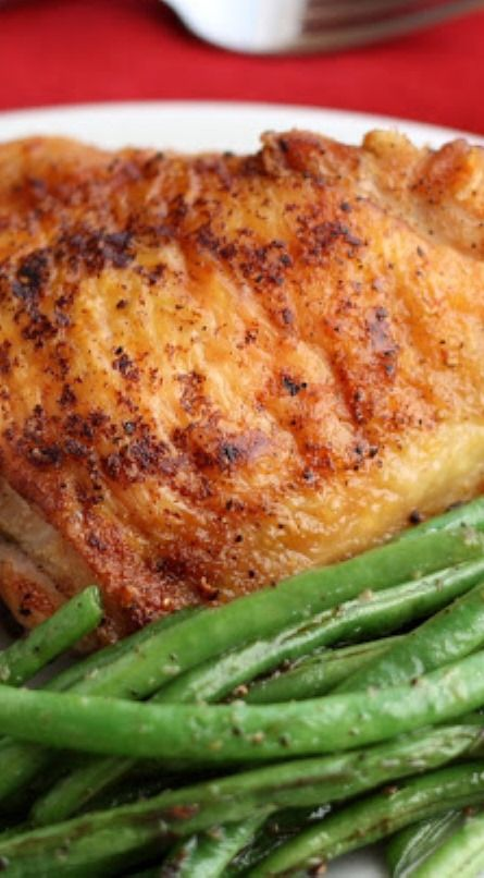 Perfect Pan-Fried Chicken Thighs